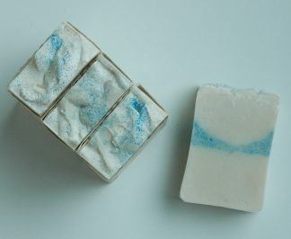 Mr. Darcy's White linen bar soap