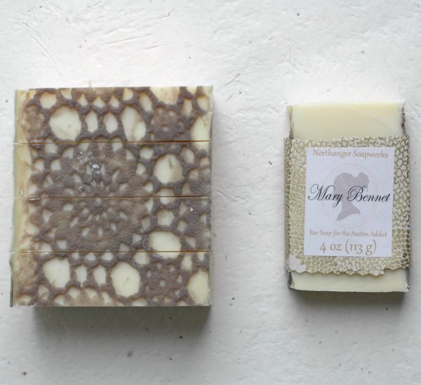 Everyone deserves a happy ending, even Mary Bennet. For all the wallflowers, by Northanger Soapworks. The perfect Jane Austen gift for a Lady.