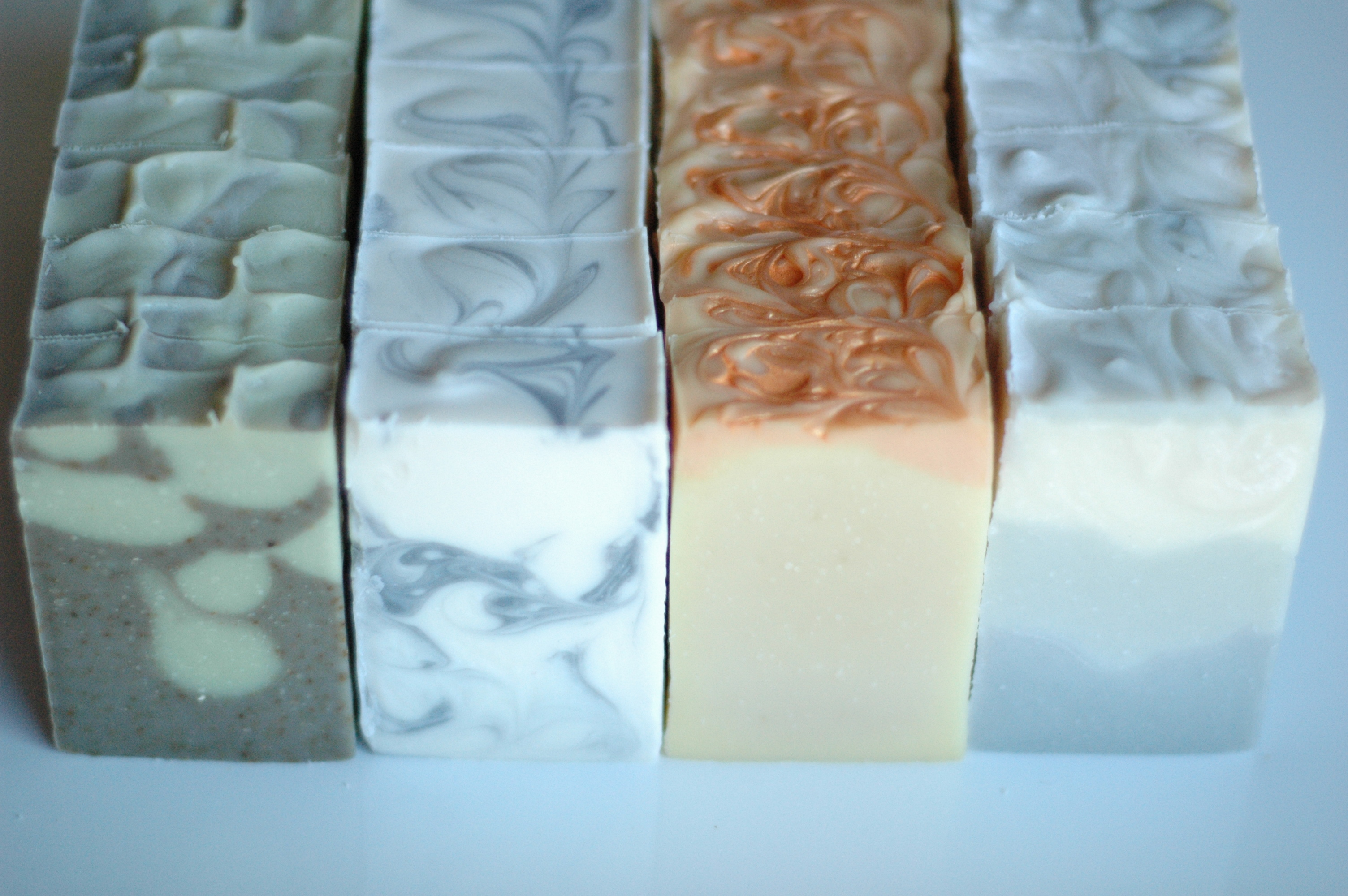 Jane Austen in Winter soap collection