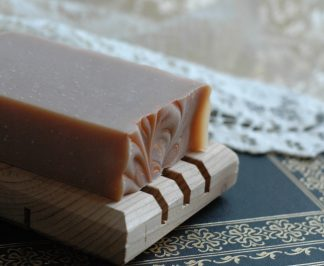 "This orange and caramel scented soap bar in inspired by Jane Austen's personal letter written about Tom Lefroy: ""At length the day is come on which I am to flirt my last with Tom Lefroy"". The perfect Jane Austen gift for a Lady."