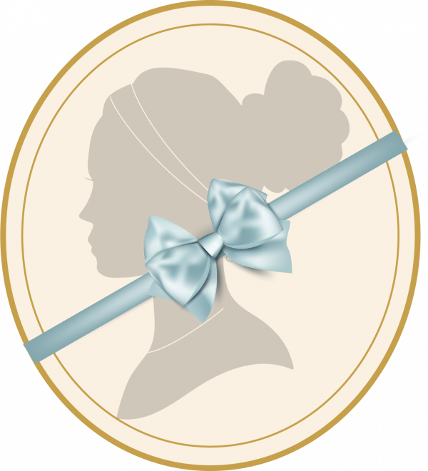 Northanger Soapworks logo with bow