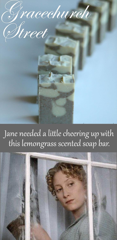 Gracechurch Street bar soap inspired from Jane Austen's Pride and Prejudice.