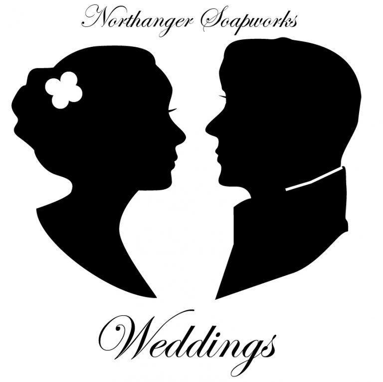 man and woman silhouette wedding stamp