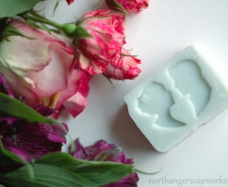 Wedding Silhouette Soap Favors. Jane Austen inspired for an elegant touch. Wow your guests with these custom cut favors with fragrance and color of your choice. #janeausten #weddingfavors #wedding