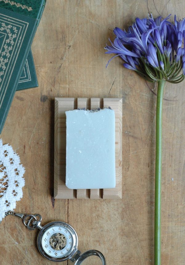 Longing for your own hunky sea captain? This lavender soap bar is inspired by Anne Elliot and makes a great gift. #janeausten #bookishgift