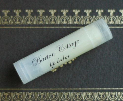 Barton Cottage lip balm by Northanger Soapworks, inspired from Sense and Sensibility