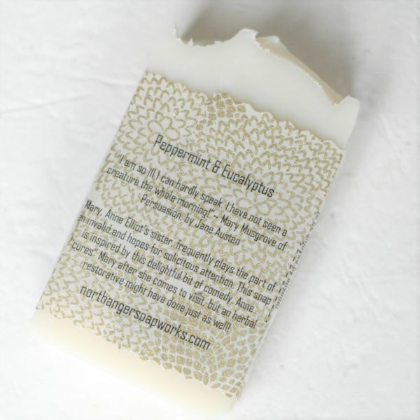 Are you feeling terrrrribly ill? Mary Musgrove knows just how you feel. In lieu of Anne Elliot to cure us of our ailments, a breath of this in a hot shower will perk you right up! The perfect Jane Austen gift for a Lady.