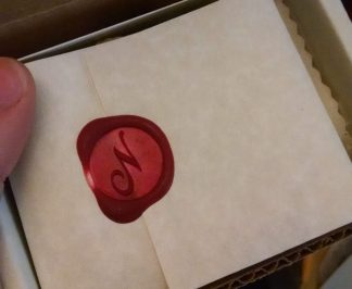 Wax sealed letter by Northanger Soapworks