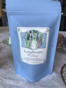Longbourn Wedding tea by Bingley's Teas