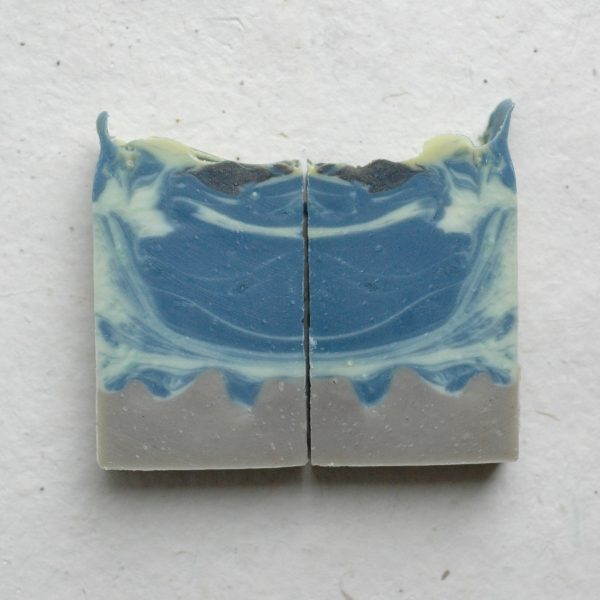 Depicting a torrential sea landscape, this inspired bar soap is called Rational Creatures. A rational woman is exactly what every sea captain needs whether he knows it or not! The perfect Jane Austen gift for a lady and lover of the novel Persuasion.