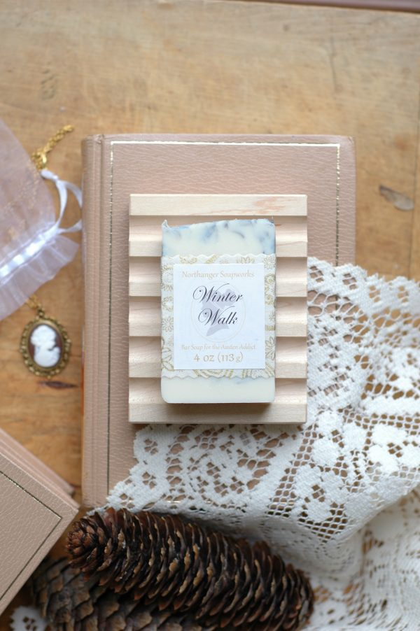 Take a Winter Walk with Mr. Woodhouse, of Jane Austen's Emma. Eucalyptus and peppermint never smelled so good! The perfect Jane Austen gift for a bibliophile.