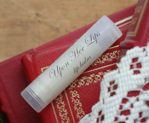 "Oscar Wilde's The Importance of Being Earnest is an exceptionally funny play and so romantic too! Our ""Upon Her Lips"" lip balm takes its name from it. A perfect romantic gift for a reader."