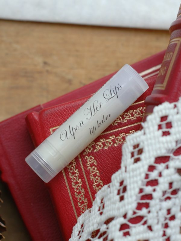 """Oscar Wilde's The Importance of Being Earnest is an exceptionally funny play and so romantic too! Our """"Upon Her Lips"""" lip balm takes its name from it. A perfect romantic gift for a reader."""