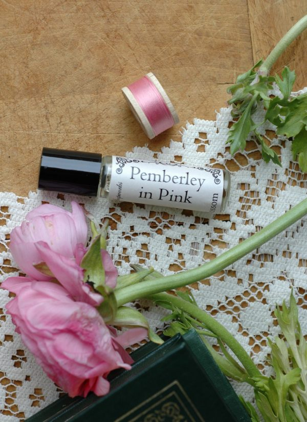 This delicate cherry blossom perfume is perfect for imagining you're on the grounds of Pemberley in spring. This belongs with the Northanger Soapworks Pemberley in Pink collection, and is the perfect Jane Austen gift for a Lady.