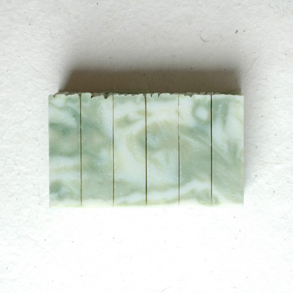 This Cucumber Sandwich bar soap is so fresh and deliciously scented. Inspired by The Importance of Being Earnest, by Oscar Wilde