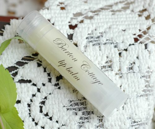 Barton Cottage lip balm smells of the lavender and mint of the fields surrounding the beautiful cottage where the Dashwoods reside. A lightly scented herbal balm, perfect for the lips of a Lady. Inspired by Sense and Sensibility, by Jane Austen