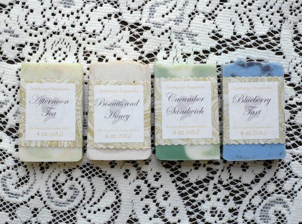 Afternoon Tea Soap Collection, by Northanger Soapworks