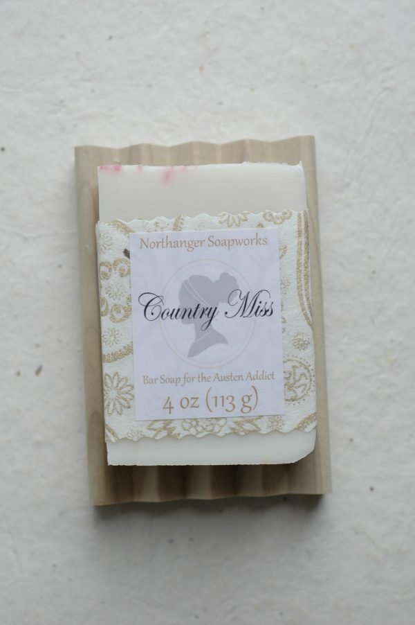 Unscented bar soap inspired by the Dashwood sisters of Sense and Sensibility, by Jane Austen
