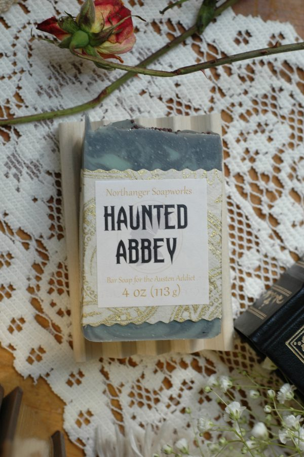 Haunted Abbey soap is inspired by Catherine Morland's first night at Northanger Abbey!