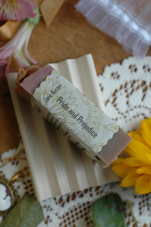 Elizabeth is excessively diverted in Pride and Prejudice. This soap is inspired by those words.